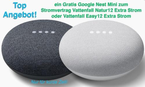 Nur für kurze Zeit! Ein Gratis Google Nest Mini sichern